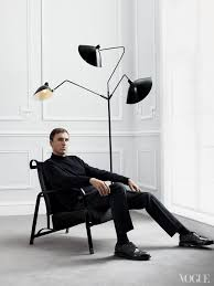 Lampe Serge Mouille Raf Simons In Front Of A Classic Serge Mouille Furniture