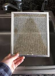 stove top exhaust fan filters stove top hood vent filter cleaning 101 soak it in a tub so grease