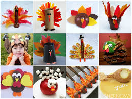 these easy turkey craft projects are simple enough for