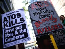 atos quietly dropped from carrying out repeat reassessments by dwp