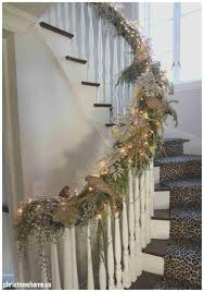 staircase christmas decorations best of christmas staircase ideas