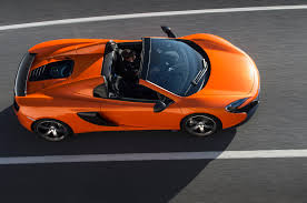 orange mclaren price the best cars with targa style tops sold today autoevolution