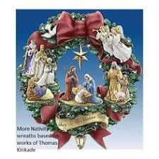 kinkade blessings wreath blessings