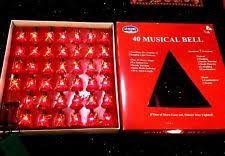 musical christmas lights musical bell string lights 40 light play 25 christmas songs 7