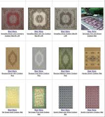 Mad Mats Outdoor Rugs Fully Exposed Rugs