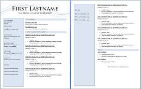 1 page resume example standard resume samples college student