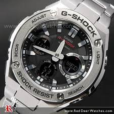 steel bracelet watches images Buy casio g shock analog digital solar stainless steel band sport jpg