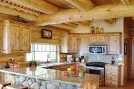Selecting Kitchen Cabinets How To Choose Kitchen Cabinets For Your Log Home Home Guides