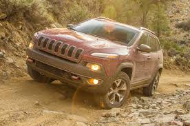 jeep cherokee brown 2014 jeep cherokee trailhawk first test