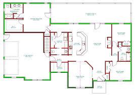 room living rear entry garage main floor master bed bath bath house plans further flat roof single floor design likewise