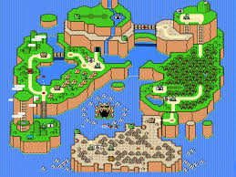 Code Geass World Map by Gaming In Retrospect Iii Super Mario World On Snes