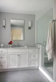 Bathroom Floor Tile by Bathroom Home Design Ideas White Floor Tile With Gray Grout For