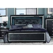 Black Queen Bed Allura RC Willey Furniture Store - Rc willey black bedroom set