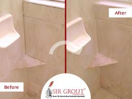 Bathroom Grout Cleaner See How Beautiful This Master Shower Looks After A Grout Cleaning