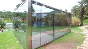 Glass Pavilion The Mind Bending Glass Pavilions Of Dan Graham