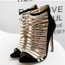 strappy women hollow sandals gladiator shoes fashion quality high