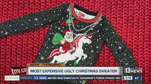 want the most expensive sweater ktnv las vegas