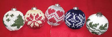 ornaments loom knitting pattern one peg at a time