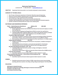 Engineering Technician Resume Sample by How To Make Cable Technician Resume That Is Really Perfect