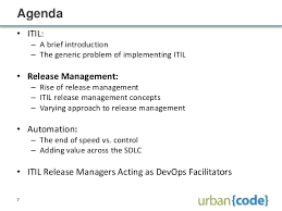 itil release management and automation