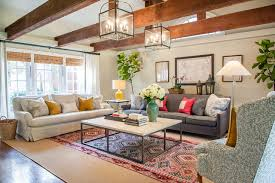 Two Different Sofas In Living Room Lenox Residence Traditional Living Room Dallas By