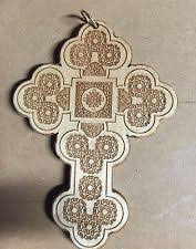 carved wooden crosses laser carved wooden coptic cross orthodox christian ebay