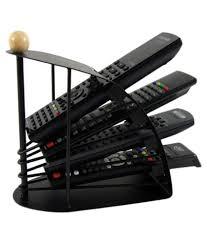 autostark black remote control organizer stand mobile storage