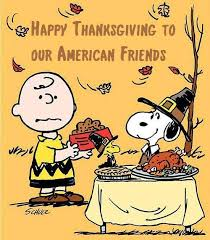 happy thanksgiving to our american friends special days