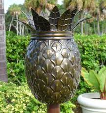 Pineapple Sconces Outdoor Pineapple Tiki Wall Sconce