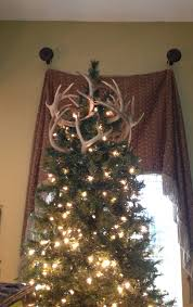 antler tree topper i knew they would come in handy one day