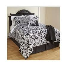 Damask Comforter Sets Black And White Damask Bedding White With Black Damask Flocking