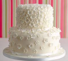 2 tier wedding cake structure with white flowers online shopping