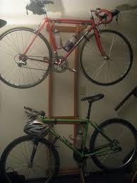 Living Room Bike Rack by Any Apartment Condo Small Home Dwellers