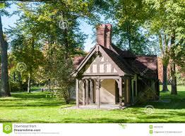 tudor style cottage tudor style playhouse stock illustration image of outdoor 46509230