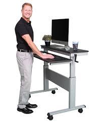crank adjustable standing desk stand up desk store