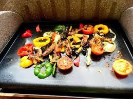 cuisiner à la plancha gaz recettes d aiguillettes de poulet et provence