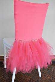 tutu chair covers coral ballerina spandex chiavari chair covers