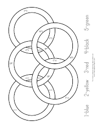 printable olympic coloring pages olympic rings coloring page