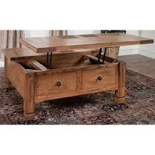 nebraska furniture coffee tables sedona coffee table with lift top in rustic oak nebraska furniture