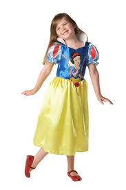 child snow white fancy dress costume peeks