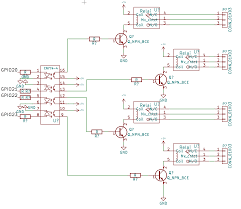 Rpi Map Transistors Drive Relays With Optocoupler And A Raspberry Pi