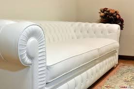 Chesterfield White Leather Sofa Chesterone Sofa Deeper Chesterfield White Sofa