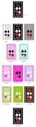 personalized deck of playing cards wedding how to write baby