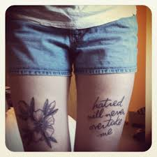 15 awesome song lyrics tattoos walyou