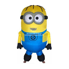Halloween Minion Costumes Free Shipping Buy Inflatable Minion Costume Halloween
