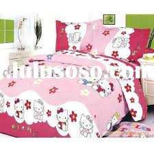 Hello Kitty Duvet Luxury Hello Kitty Double Bed Set 59 On Soft Duvet Covers With