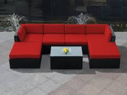 red patio furniture home design