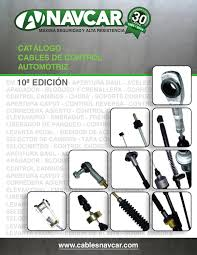navcar catalogo cables de control automotriz by navcar issuu