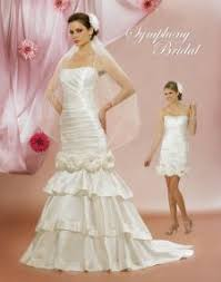 fabulous convertible wedding dresses get two wedding dresses from one