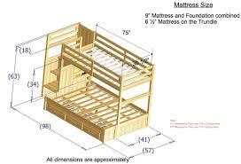bunk bed plans free vnproweb decoration